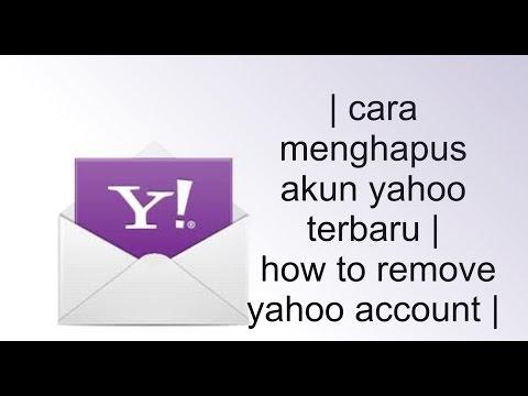 cara menghapus akun yahoo Email (terupdate 2015)