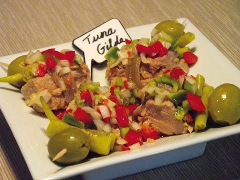How to make a traditional Basque Pintxo: Tuna Gilda