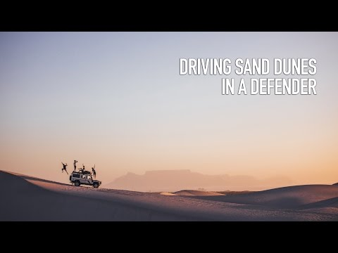 DRIVING SAND DUNES IN A DEFENDER!