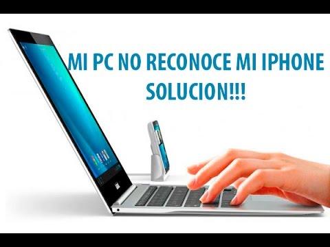 Mi PC no reconoce mi Iphone - Solucion!!!