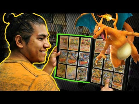 INSANE CHARIZARD CARD COLLECTION!!