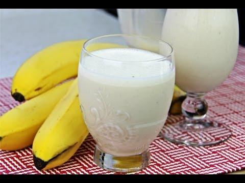 Classic Caribbean Banana Punch (banana shake).