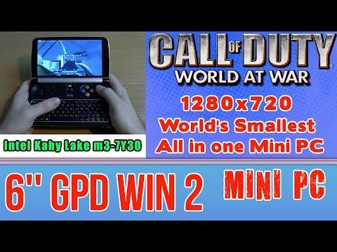 1# GPD WIN 2 Call of Duty: World at War  - 128 GB SSD 8GB RAM Mini PC Intel m3-7Y30 HD Graphics 615