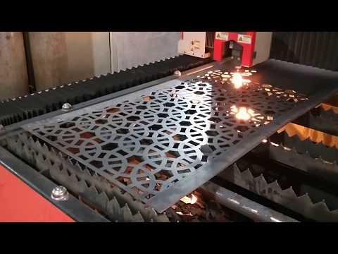 fiber laser cutting machine for cutting metal door, windows, furniture