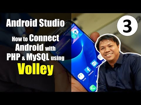 Best Tutorial on How to Connect Android with PHP and MySQL using Volley (Part 3) ☎️ ANDROID PHONE