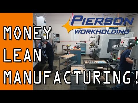 AWESOME Lean Machine Shop Tour: Pierson Workholding!