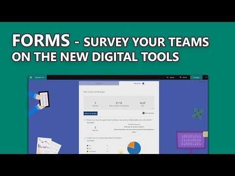 Forms - Survey your teams on the new digital tools
