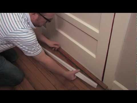 How to Install a Door Bottom