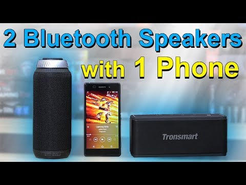 How to: Connect 2 Bluetooth Speakers to 1 Phone -- Tutorial