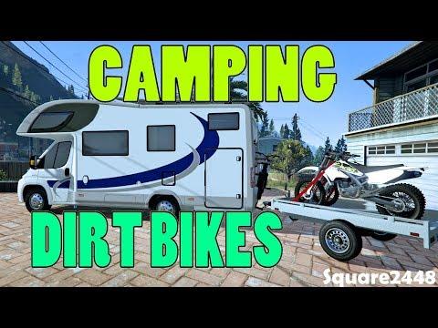 Camping & Riding Dirt Bikes - New RV - GTA 5