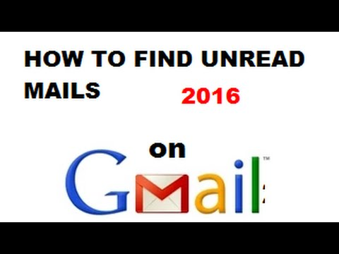 How To Find Unread Mails In Gmail In Hindi/urdu