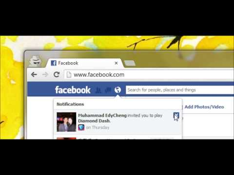 TUTORIAL: Stop All Facebook Game Request and Notifications