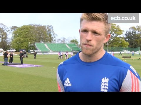 David Willey hopes to get the nod for England's ODI in Ireland