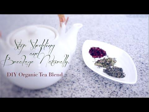 STOP EXCESS HAIR SHEDDING & BREAKAGE! | DIY Potent Tea Blend