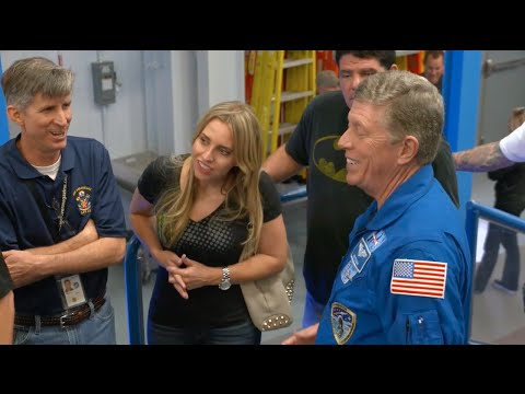 NHRA drivers take a trip to NASA's Johnson Space Center in Houston