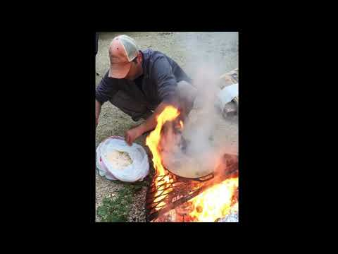 Cooking with fire. That's hot!!!