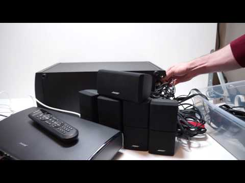 Bose Lifestyle 35 System Demo (PS28 III Subwoofer)