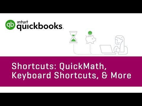 How to Use Shortcuts: QuickMath, Keyboard Shortcuts, & More   QuickBooks Online Tutorial 2018