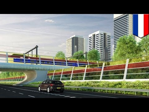 Here's a brilliant plan to reduce highway noise pollution and generate electricity at the same time