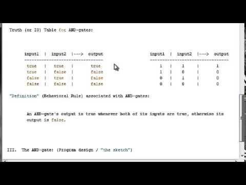 Arduino Programming Tutorials    Theory and Design    Simple Logic Gate Programs #1