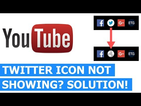 Twitter Icon Not Showing On YouTube Channel? Here's How To Fix It
