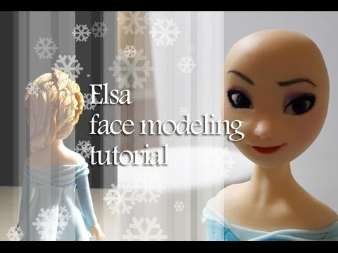 ::sugarcraft::frozen elsa face modeling tutorial 엘사얼굴만들기