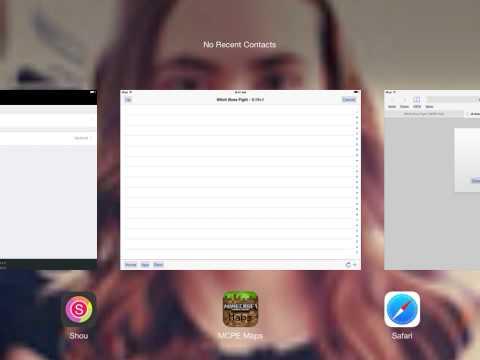 iOS 8.0.2 how to download mcpe maps no jailbreak or computer (read descripción