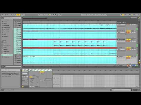 Transposing Multi-Tracks In Ableton Live