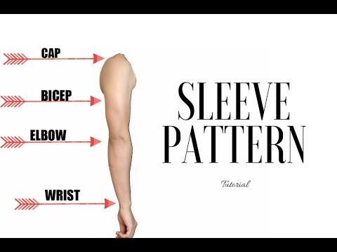 DIY Sleeve: How To Make A Sleeve Pattern