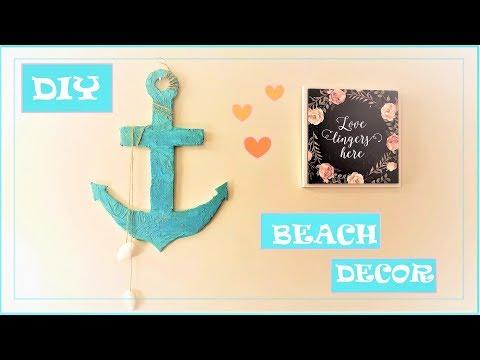DIY Anchor || How to make Beach Theme wall decor