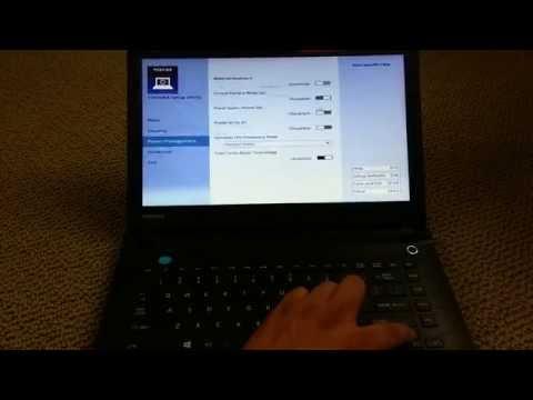 F2 Key for Bios.  Toshiba Satellite CL45-C4370 Windows 10 Laptop