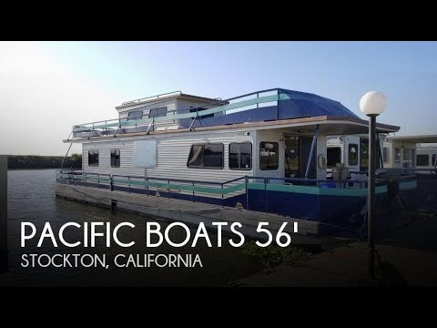 [SOLD] Used 1996 Pacific 56 Houseboat in Stockton, California