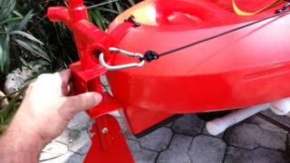 Ascend Fs12t Rudder Mod   DIY Kayak Rudder - PakVim net HD