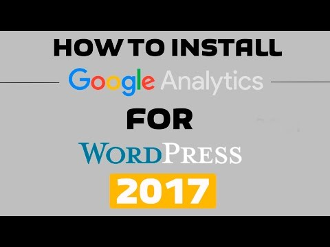 How To Install and Setup Google Analytics To Your Wordpress Website - 2016! EASY!