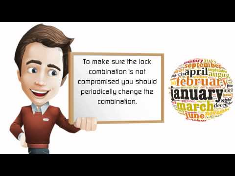 How to Reset a Master Lock Combination Video