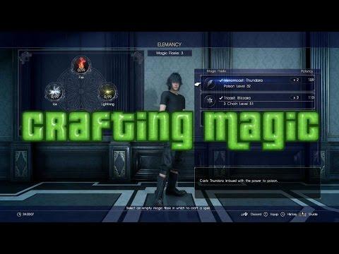 Final Fantasy 15 Crafting Magic