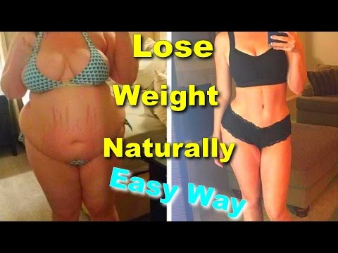 easy way to lose weight naturally