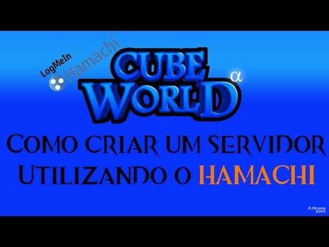 Como criar um servidor em Cube World c/ Hamachi - Tutorial