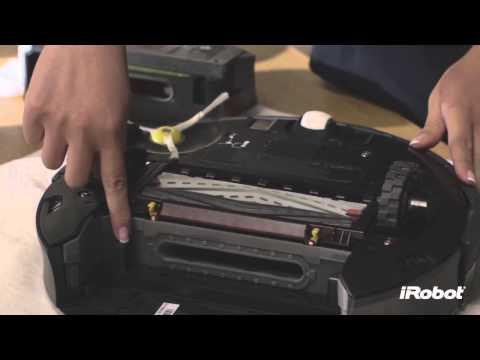 iRobot Roomba® 800 Series - How To Clean Sensors