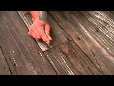 Save Your Deck from Loose Nails & Screws