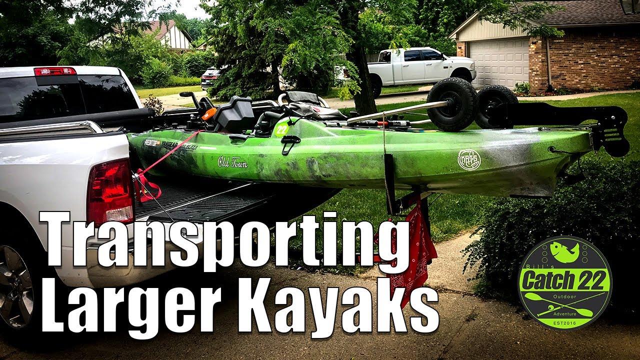 How to Transport a Larger Kayak