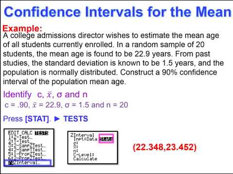 Elementary Statistics - Chapter 7 - Estimating Parameters and Determining Sample Sizes Part 1
