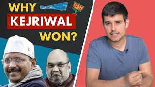 Why Kejriwal Won? | Delhi Election Analysis by Dhruv Rathee