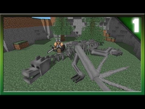 Minecraft 1.8 Skeleton Dragons! Community Suggestions Episode #1