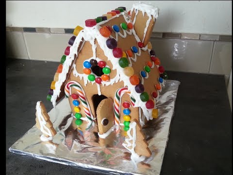 How to make a Gingerbread House from scratch!!!