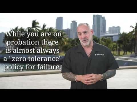(114) What happens if I fail a Drug Test while on Probation? Michael Haber Miami Criminal DUI Lawyer