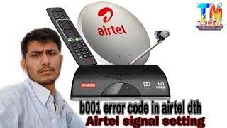 airtel dish tv signal problem Videos - 9tube tv