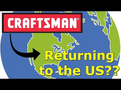 Are Craftsman Tools Coming Back To USA? by @GettinJunkDone