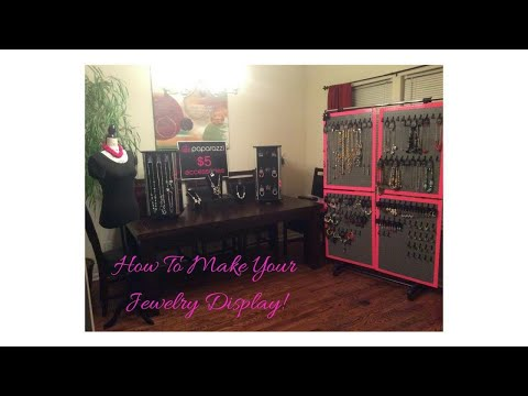 Paparazzi Accessories - How To Make Your Jewelry Pegboard Display