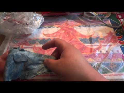 Starching Fabric Tutorial